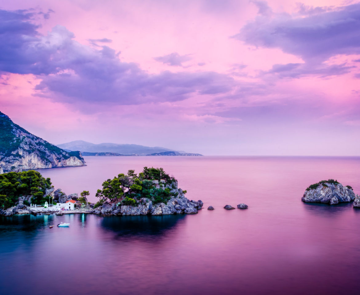 Lady's Island in Parga