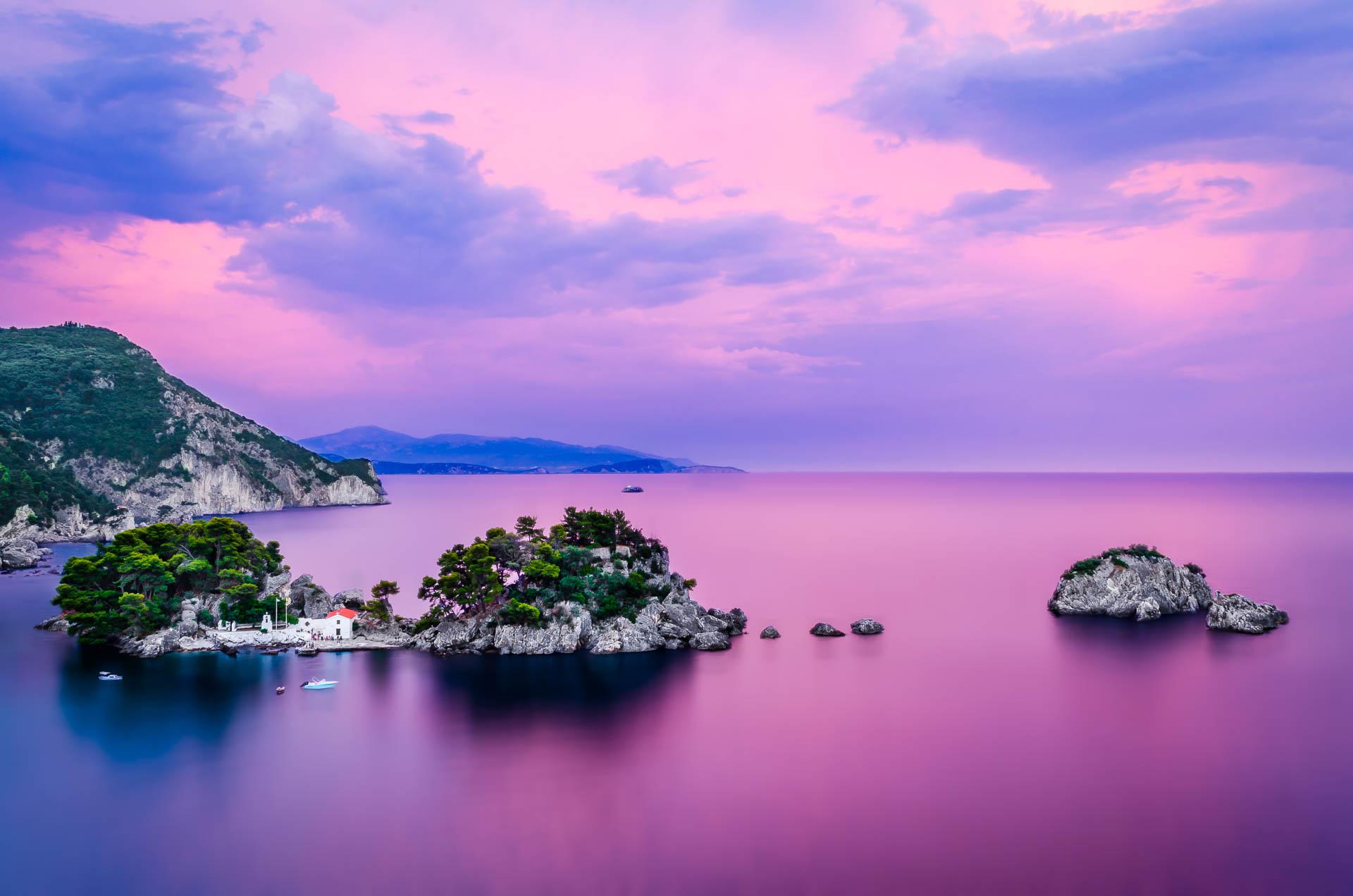Lady's Island, Parga, Greece