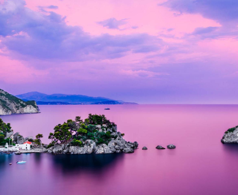 Lady's Island in Parga