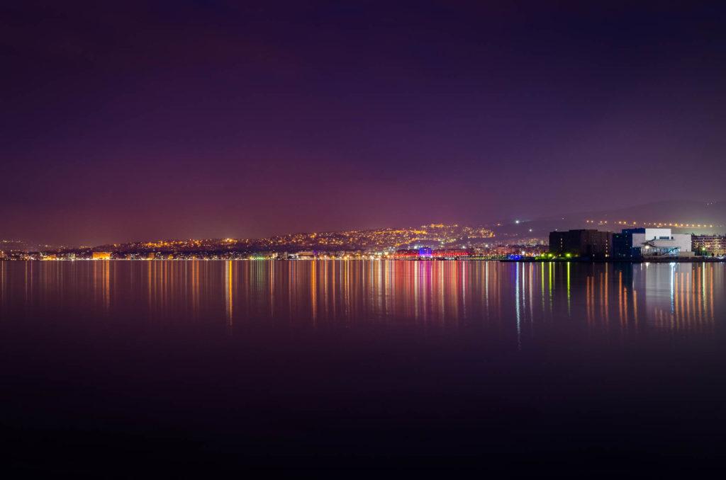 City of Thessaloniki at night