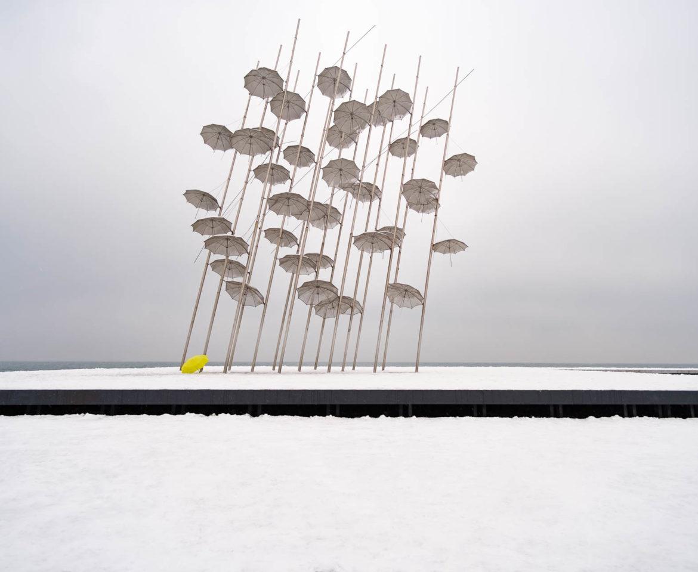 Snowy Zongolopoulos' umbrellas