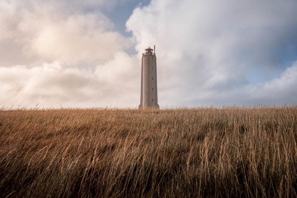 Malarrif lighthouse in Iceland