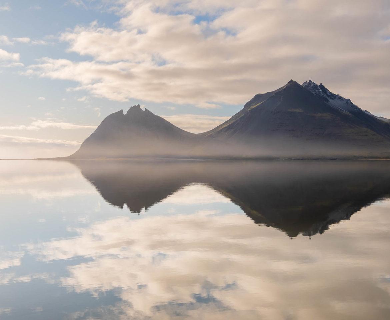 Brunnhorn mountain in Iceland