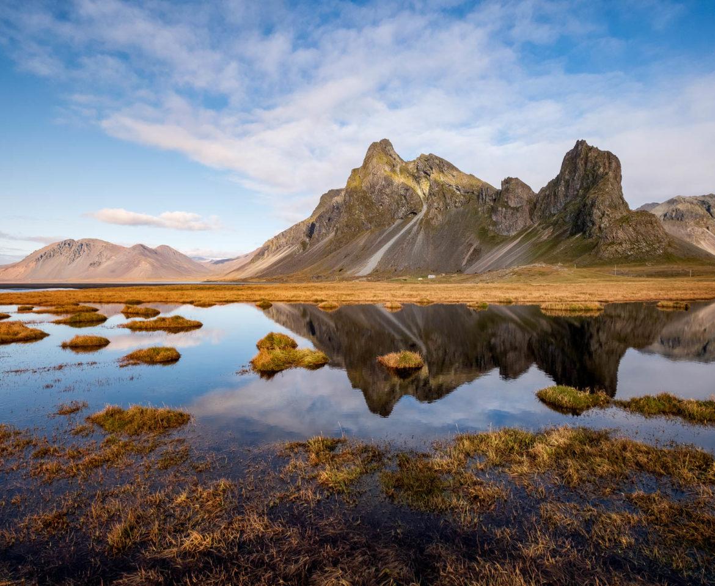 Eystrahorn mountain in Iceland